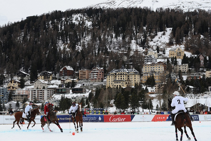 Beauty and Snow – St Moritz once again plays host to the world's pre-eminent Snow Polo World Cup.