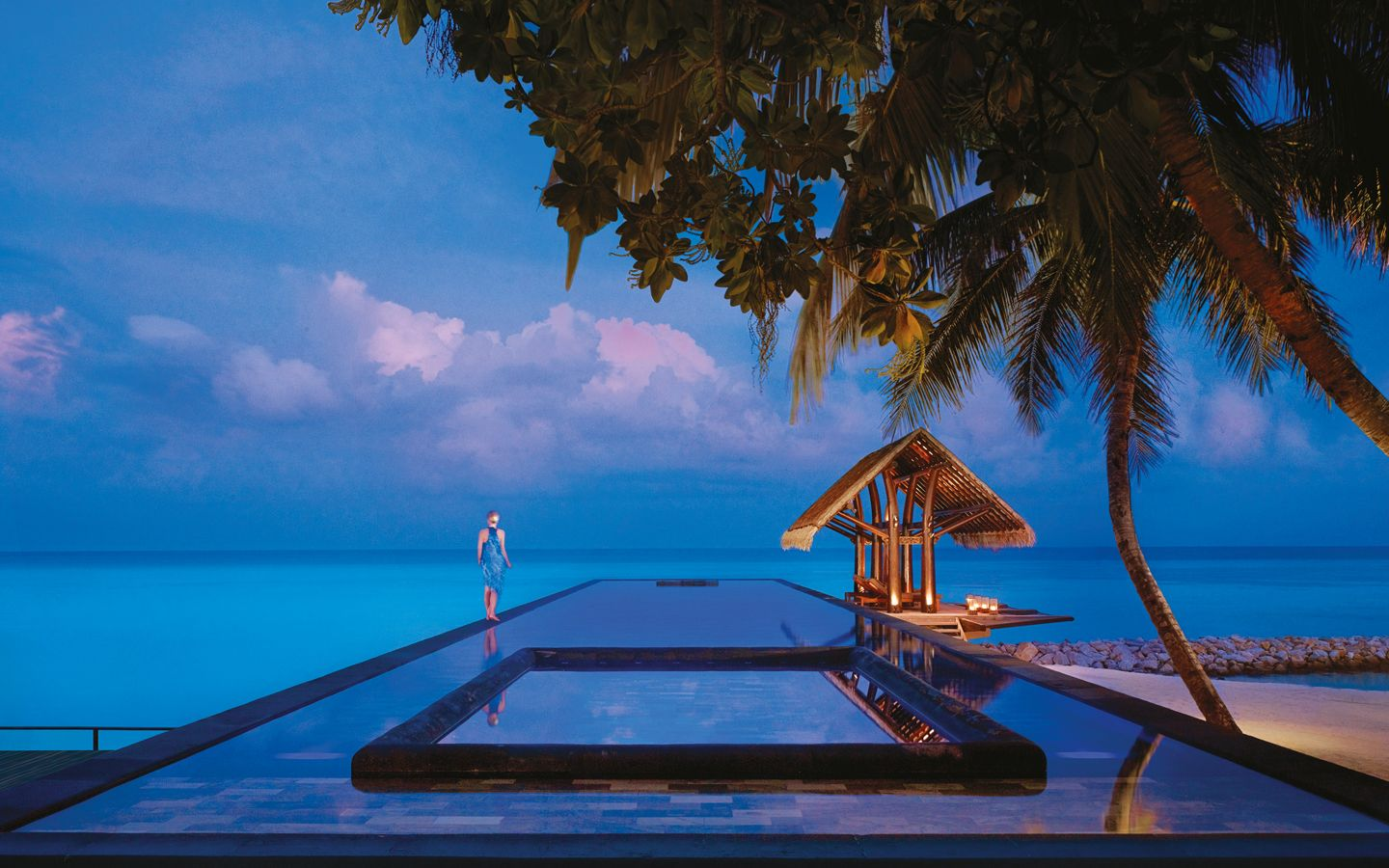 Where in the world are the most amazing luxury swimming pools?