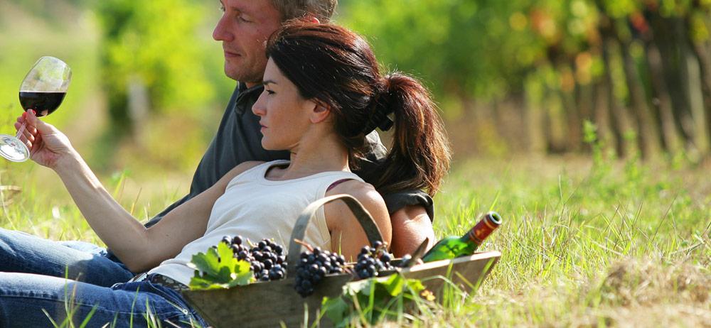 Wine drinking in New Zealand