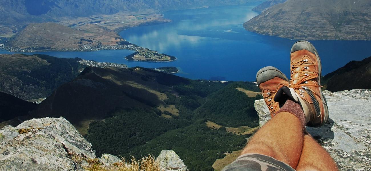 Stunning vistas in New Zealand
