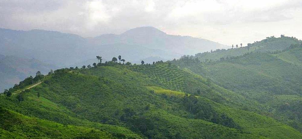 Thailand hills