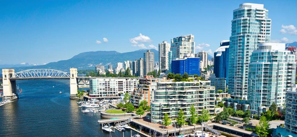 vancouver skyline-